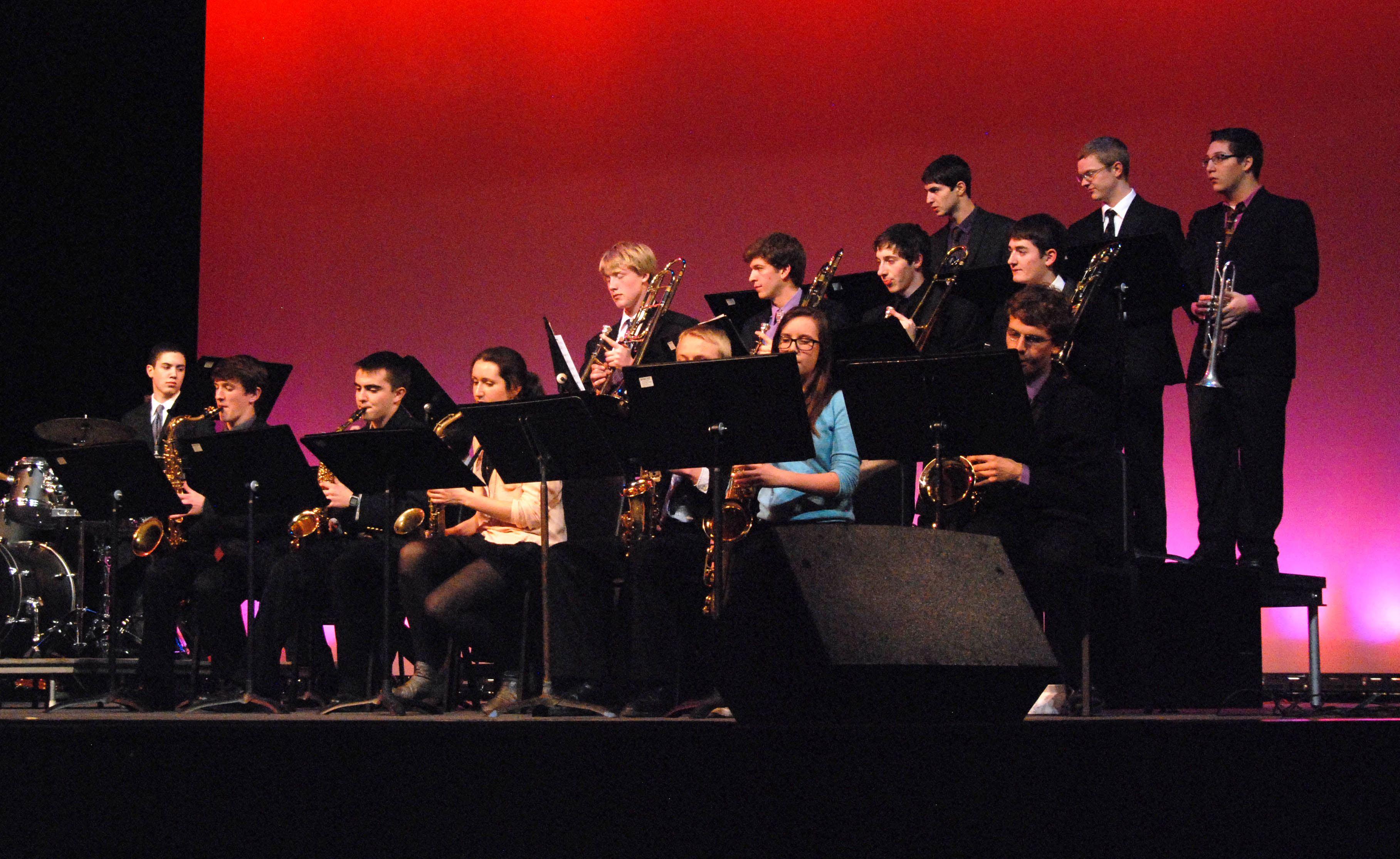 Jazz Ensemble performs in Jazz Night.