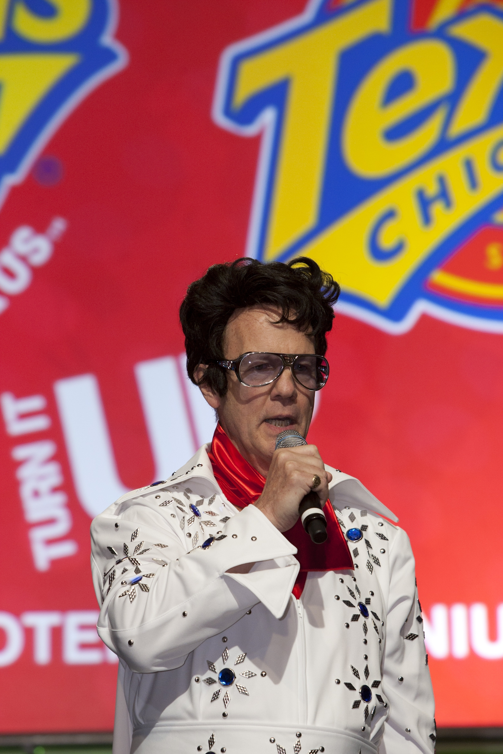 "In 2010, Tony Lavely performed as Elvis while singing ""A Little Less Conversation"" in Las Vegas during a company convention."