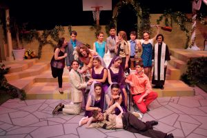 The cast of Much Ado About Nothing