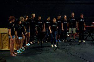 Melocotones performed at EnviroJam last Friday.