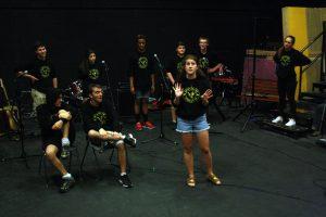 Spontaneous Generation performed at EnviroJam last Friday.