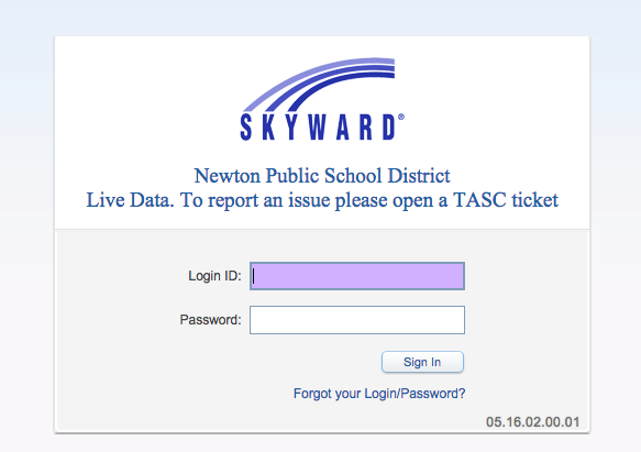 Teachers will use Skyward to record attendance and submit grades, among other functions.